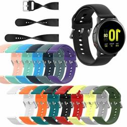 20mm Quick Release Silicone Rubber Watch Strap Wrist Band Re