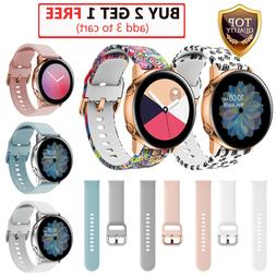 For Samsung Galaxy Watch Active 2 42 40 44mm Sport Silicone
