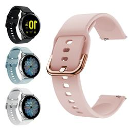 For Samsung Galaxy Watch Active 2 42 46 40mm 44mm Sport Soft