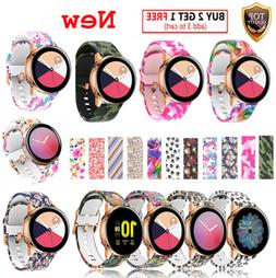 For Samsung Galaxy Watch Active 2 44 40mm 42 Silicone Bracel