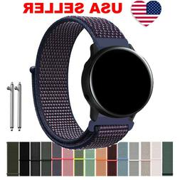 For Samsung Galaxy Watch Active Band Woven Nylon Sport Loop