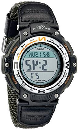 Casio Men's SGW100B-3V Digital Compass Twin-Sensor Sport Wat