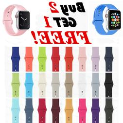 silicone band strap for apple watch 1