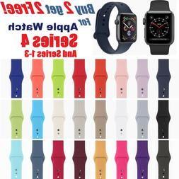 silicone band strap for apple watch iwatch