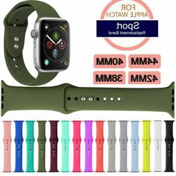 Silicone Band Strap For Apple Watch iWatch Sports Series 1/2