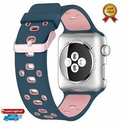 Silicone Replacement Bracelet Loop Strap Band Case for Apple