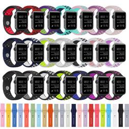 silicone replacement sports strap watch band