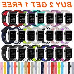 Silicone Replacement Milanese Loop Strap Band for Apple Watc