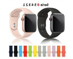 Silicone Sport Band For Apple Watch band Strap For Iwatch 5