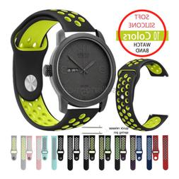 Silicone Sport Watch Band Strap For Citizen Men's Eco-Drive