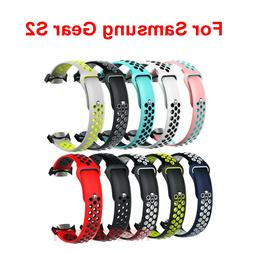 Silicone Sports Watch Band For Samsung Gear S2 SM-R720 / SM-