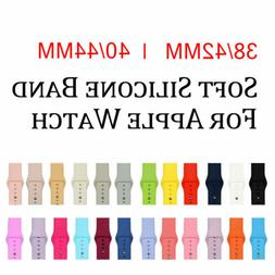Silicone Strap Band For Apple Watch Series 1 2 3 4 38MM 42MM