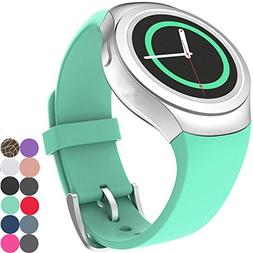 CoJerk Silicone Watch Band for Samsung Gear S2 - Mint Green