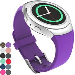 CoJerk Silicone Watch Band for Samsung Gear S2 - Purple
