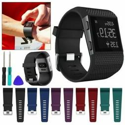 Fitbit Surge Replacement Silicone Wristband Strap Watch Band
