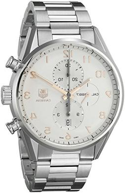 Tag Heuer Men's 'Carrera' Silver Dial Stainless Steel Automa