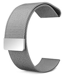 Smart Watch Band, Bicolor Fully Magnetic Closure Clasp Mesh