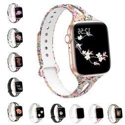 Soft Silicone Multicolor Band Compatible with Apple Watch Se