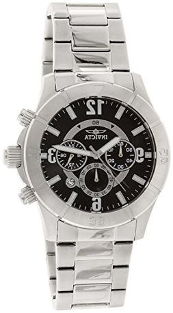 Men's Specialty Chronograph Black Dial Stainless Steel - Inv