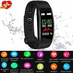 sport fitness smart watch band heart rate