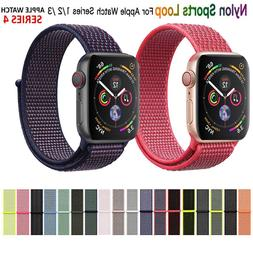 Sport Loop Nylon Woven Band for Apple Watch Series 5 4 3 2 1