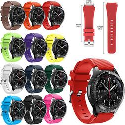 Sport Rubber Silicone Watch Band Strap For Samsung Gear S3 F