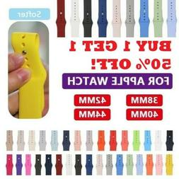 sport silicone watch band strap for apple