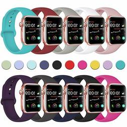 Sport Silicone Watch Band Strap for Apple Watch iWatch Serie