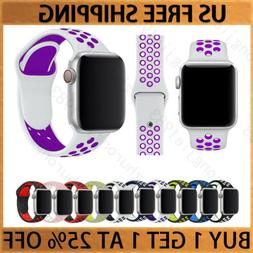 Sport Silicone Wrist iWatch Strap Band For Apple Watch SERIE