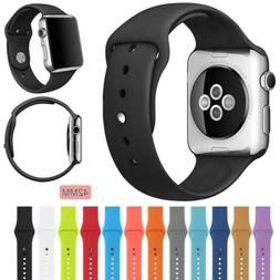 Sports Silicone Bracelet Strap Watch Band Replacement for Ap