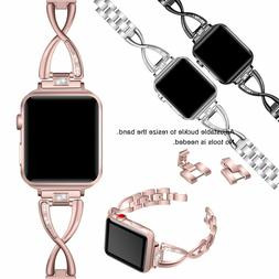 Stainless Steel Band Strap For Apple Watch iWatch Series 1 2