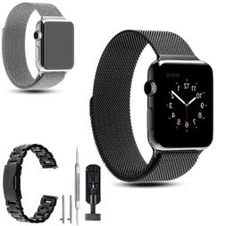 Stainless Steel Magnetic Watch Band Wrist Strap Bracelet fr
