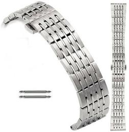 Stainless Steel Metal Bracelet Replacement Watch Band Strap