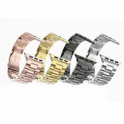 Stainless Steel Strap Band Replacement For Apple Watch iWatc