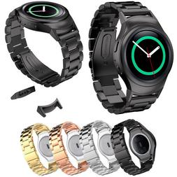 Stainless Steel Watch Band + Connector for Samsung Galaxy Ge