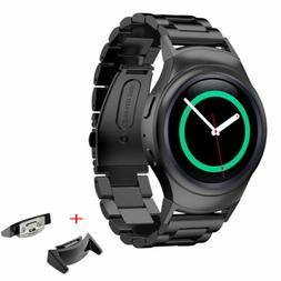 Stainless Steel Watch Band+ Connector for Samsung Galaxy Gea