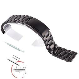 VIMVIP® 22mm Stainless Steel Watch Band For Samsung Galaxy