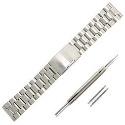 22mm Stainless Steel Watch Bands Strap for Pebble Time/Time
