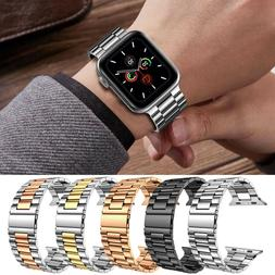 Stainless Steel Wrist iWatch Band Strap For Apple Watch Seri