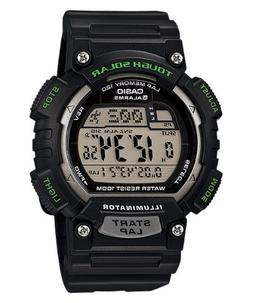 Casio Men's STL-S100H-1AVCF Tough Solar Runner Black Watch