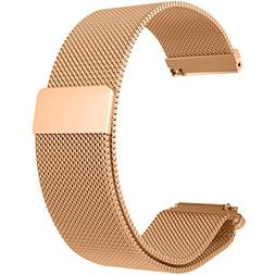 RuenTech 22mm Strap for Fossil Q Wander Replacement Bands, M