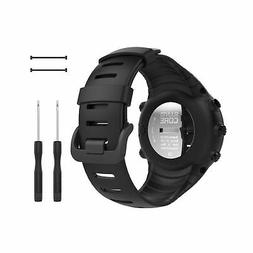 Suunto Core Smart Watch Band Replacement Wrist Strap Black S
