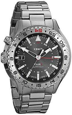 Timex T2P424DH Mens Intelligent Quartz 3 GMT Analog Display
