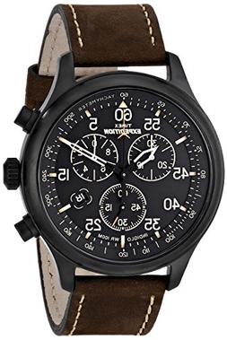 Timex Men's T49905 Expedition Rugged Field Chronograph Bla