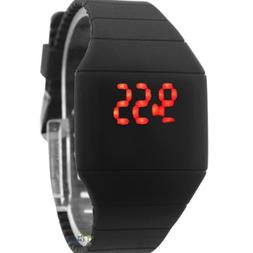 Touch Screen Led Watch Cheap Price Ultra-thin Plastic Candy