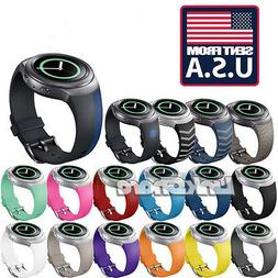 TX Silicone Watchband Band for Samsung Gear S2 SM-R720 Versi