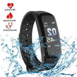 US Blood Pressure/Oxygen Heart Rate Monitor Smart Watch Band