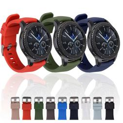 US For Samsung Galaxy Watch 3 45mm R840 46MM S3 Sport Silico