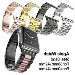 US For Apple Watch Series 3/2/1 Stainless Steel Wrist iWatch