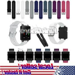 US Sport Silicone Replacement Wrist Watch Band Strap For Gar
